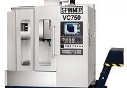 SPINNER VC750 CNC DİK İŞLEM TEZGAHI